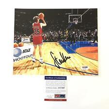 Steve Kerr signed 8x10 photo PSA/DNA Chicago Bulls Autographed