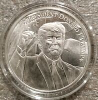 Donald Trump 2020 Keep America Great 1 oz .999 silver coin President MAGA New!