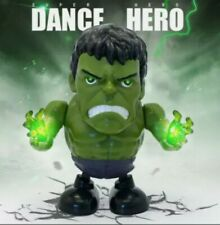 Dancing Hulk Dance Hero Toys Dancing Robot with Light Music Dancing