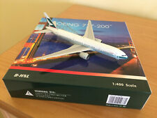 Phoenix 777-200 Cathay Pacific B-HNL World's First 777 **VERY RARE** in 1:400