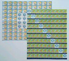 200 Sister Elizabeth Kenny Polio Foundation Cinderella Stamps~2-100 Seal Blocks