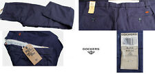 pantaloni cotone DOCKERS colore blu taglia W34 L32