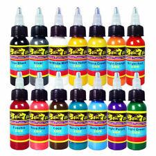 Solong Tattoo TI3013014 30ml Tattoo Ink Set - 14 Colors