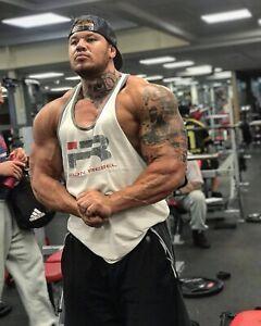 Iron Rebel Tank Top Mens Muscle Stringer Vest Fitness Gym Bodybuilding Shirt New