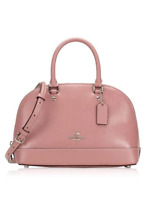 NWT Coach F32019 Patent crossgrain Leather Mini Sierra Satchel Crossbody Bag
