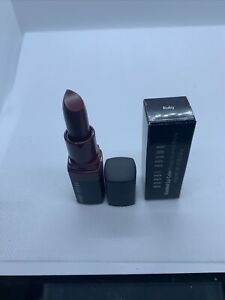 Bobbi Brown Crushed Lip Color Lipstick ~ RUBY ~ TRAVEL SIZE .07 Oz BNIB