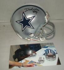 DeMarcus Ware signed Dallas Cowboys mini helmet w/ signing photo - 9x Pro Bowler