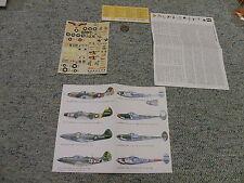 Esci  decals 1/72 P-38 Lightning / P-38 Airacobra variants   N67