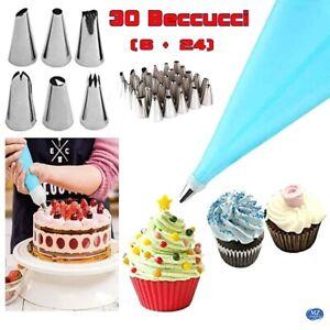 Beccucci sac a poche saccapoche silicone decorazione per torta dolce cake design