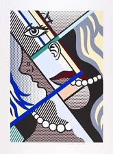 Roy Lichtenstein, Modern Art I Screenprint 1966 hand signed and numbered