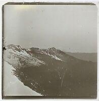 Montagne Alpes Francia Foto Stereo PL59L4n2 Placca Lente
