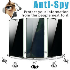 2xFor Samsung Galaxy Note 20 2020 Anti-Spy Privacy Screen Protector Glass Cover