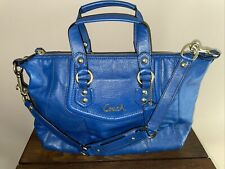 Coach Ashley Blue Satchel F19247