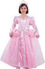 Déguisement Fille Princesse Aurore Rose 8 Ans Costume Enfant Dessin Animé