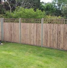 Fence Panels with built in Trellis