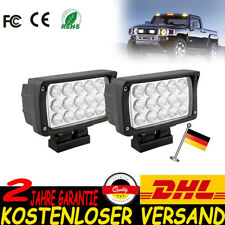 2pcs 45W LED Arbeitsscheinwerfer Offroad Scheinwerfer Traktor Bagger Beleuchtung