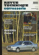 (9A)REVUE TECHNIQUE CARROSSERIE MERCEDES CLASSE C