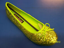 STAR Shoes Glitter Flats Dress Up Halloween Adult Costume Accessory 2 COLORS
