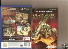 GLADIATOR SWORD OF VENGEANCE PLAYSTATION 2 PS2 PS 2 18