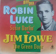 "7"" ROBIN LUKE Susie Darlin´ + JIM LOWE  The Green Door"
