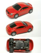 2009 Micro Scalextric AUDI TT RED ENGLAND HO SLOT CAR