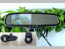 """Interior rear view mirror with 4.3""""camera display,fits Subaru outback,2007-2015"""