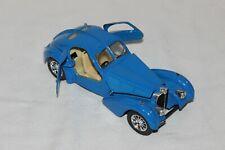 Burago Bugatti Atlantic 1936 Blue 1:24 Scale Die cast Replica