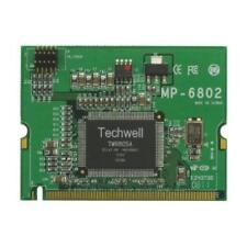 1 x Commell MP-6802T Video Module, Surveillance Mini-PCI Capture Card