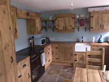 Handmade Kitchens By Earthwood Reclaimed Timber Furniture