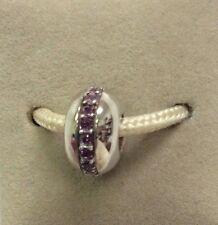Chamilia Jewelry Amethyst Wink Swarovski Crystal Bead Sterling Silver Charm