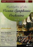 HIGHLIGHTS OF THE VIENNA SYMPHONIC ORCHESTRA - DVD VOL 4 - JOHANN STRAUb
