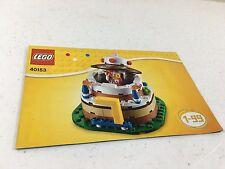 JESTER-Brand New /& Sealed Lego 40153-Gâteau d/'anniversaire Set-Décoration de Table