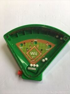 Nintendo 2006 Wii Pre-Release Promotional Hand Held Baseball Game Plastic Toy