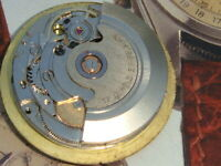 ETA 2879 17j automatic movement date project donor parts watchmaker balance good