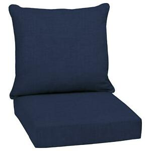 """Outdoor Deep Seat Chair Patio Cushions Set Pad Uv  and  Fade Resistant 24"""""""