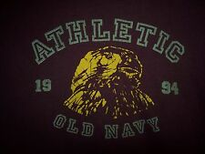 OLD NAVY BOY'S  BURGUNDY XL ATHLETIC 1994 Eagle GRAPHIC TEE SHIRT
