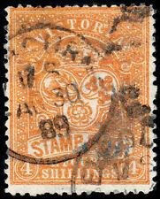 Victoria Scott Ar16 Postal-Fiscal (1879-96) Used F, Cv $35.00
