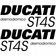 ADHESIVO PEGATINA - AUFKLEBER ADESIVI - Ducati ST4S desmo Réf-MOTO-023