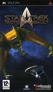 PSP Star Trek Tactical Assault PAL Gioco Nuovo Sigillato Playstation Portable