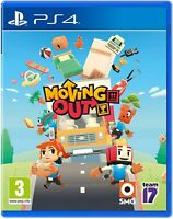 Moving Out Sony Playstation 4 PS4 Game