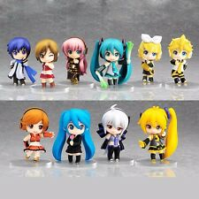 10Pcs/Set Anime Hatsune Miku Nendoroid Petit Vocaloid Figures Good Smile Gifts