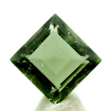 Faceted Moldavite Gemstone Meteorite Impactite Tektite AUTHENTICITY GUARENTEED!
