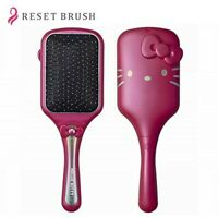 New Hello Kitty Pink Ultrasonic Vibration Magnetism Combing Brush Japan Limited