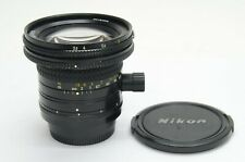 Nikon PC-NIKKOR 28mm f/3.5 Manual Focus Lens