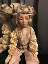 Rare Cubeb Smoker Boudoir Doll Art Deco, She is Loosed Need Restring