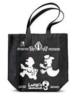 "Luigi's Mansion 3 Canvas Bag (New, Black, Nintedo Switch Promo, 2019, 14""x16"")"