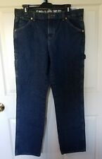 Dickies Boys Denim Carpenter Jeans - Size 20, Blue, Relaxed Fit, Straight Leg