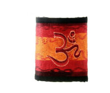Porte Feuille Monnaie Cartes Rasta Om Hindouiste  GZ30