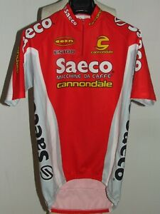 Bike Cycling Jersey Maillot Shirt Cyclism Sport Team Saeco Cannondale Size XL