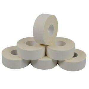 6er Pack Tape weiss ca 2,5 x 1000 cm, Hand u. Fußtape, Boxen, Sport, Tapen